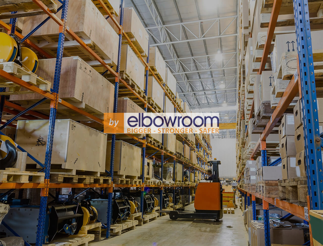 Forklift putaway - ELB watermark